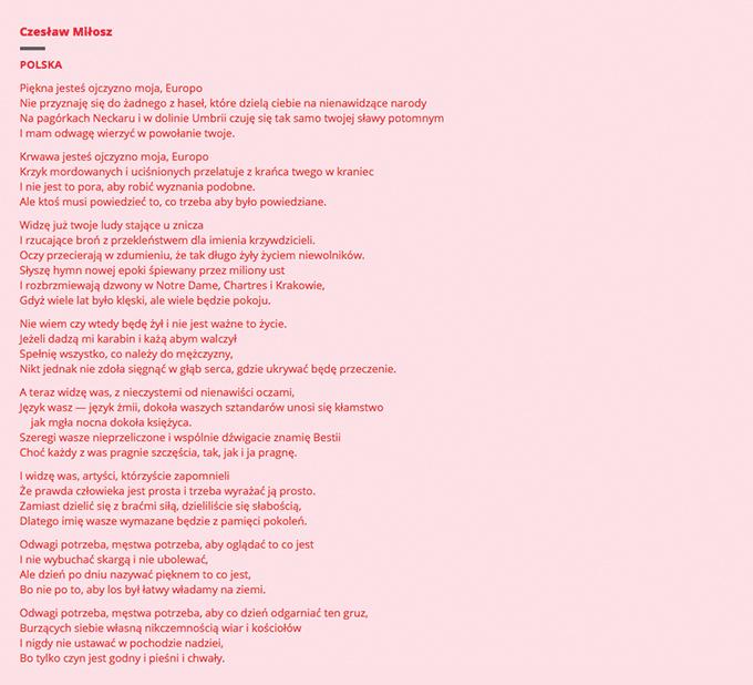 Wiersze W Mieście