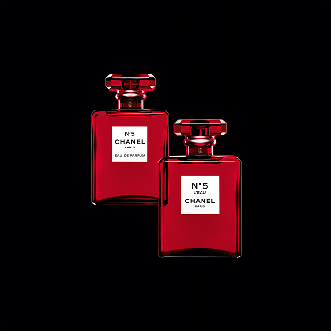 2 chanel Chanel no5 red edition